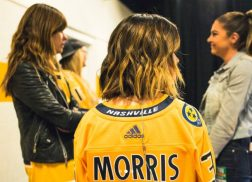 Maren Morris Impresses With National Anthem at Nashville Predators Playoffs