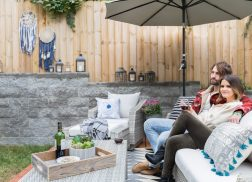 Maren Morris and Ryan Hurd Did a Gorgeous Backyard Makeover