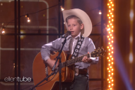 Kid Yodeler Catches the Attention of Ellen and Kacey Musgraves