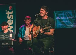 Brett Young, Morgan Evans Make Surprise Appearance at Tin Pan South 2018