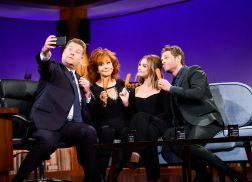Reba Teaches James Corden About Her Love of Corndogs