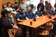 Brad Paisley Stops By the Montecito Fire Department Before Benefit Concert