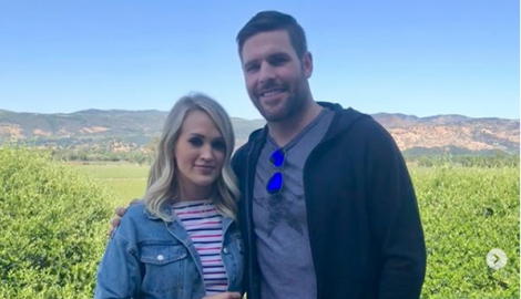 Carrie Underwood and Mike Fisher Relax on a Romantic Wine Country Vacation