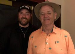Chris Young Sings Impromptu Duet with Comedian Bill Murray at Charity Golf Event