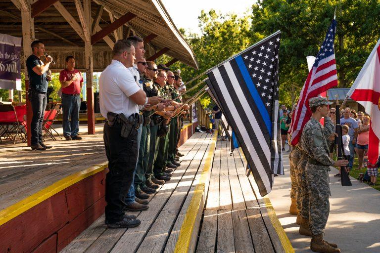 Easton Corbin Returns Home to Honor Late Deputies