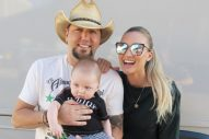 Jason Aldean Praises His Wife and First-Time Mom, Brittany
