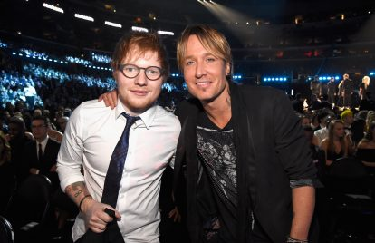 Keith Urban Praises Ed Sheeran: 'He Has No Problem in Being Vulnerable'