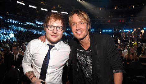 Keith Urban Praises Ed Sheeran: 'He Has No Problem in Being Vulnerable'