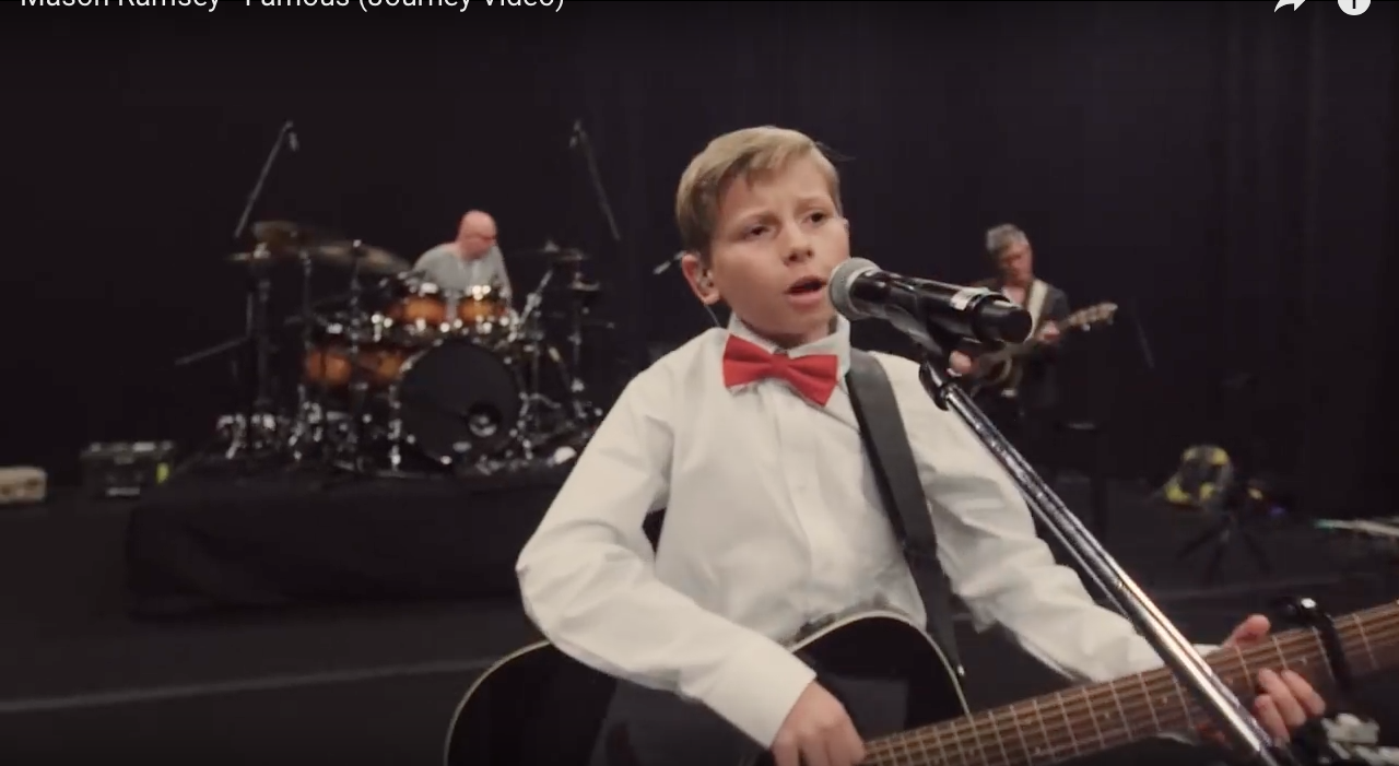 'Yodel Boy' Mason Ramsey Relives Road to the Spotlight in 'Famous' Video