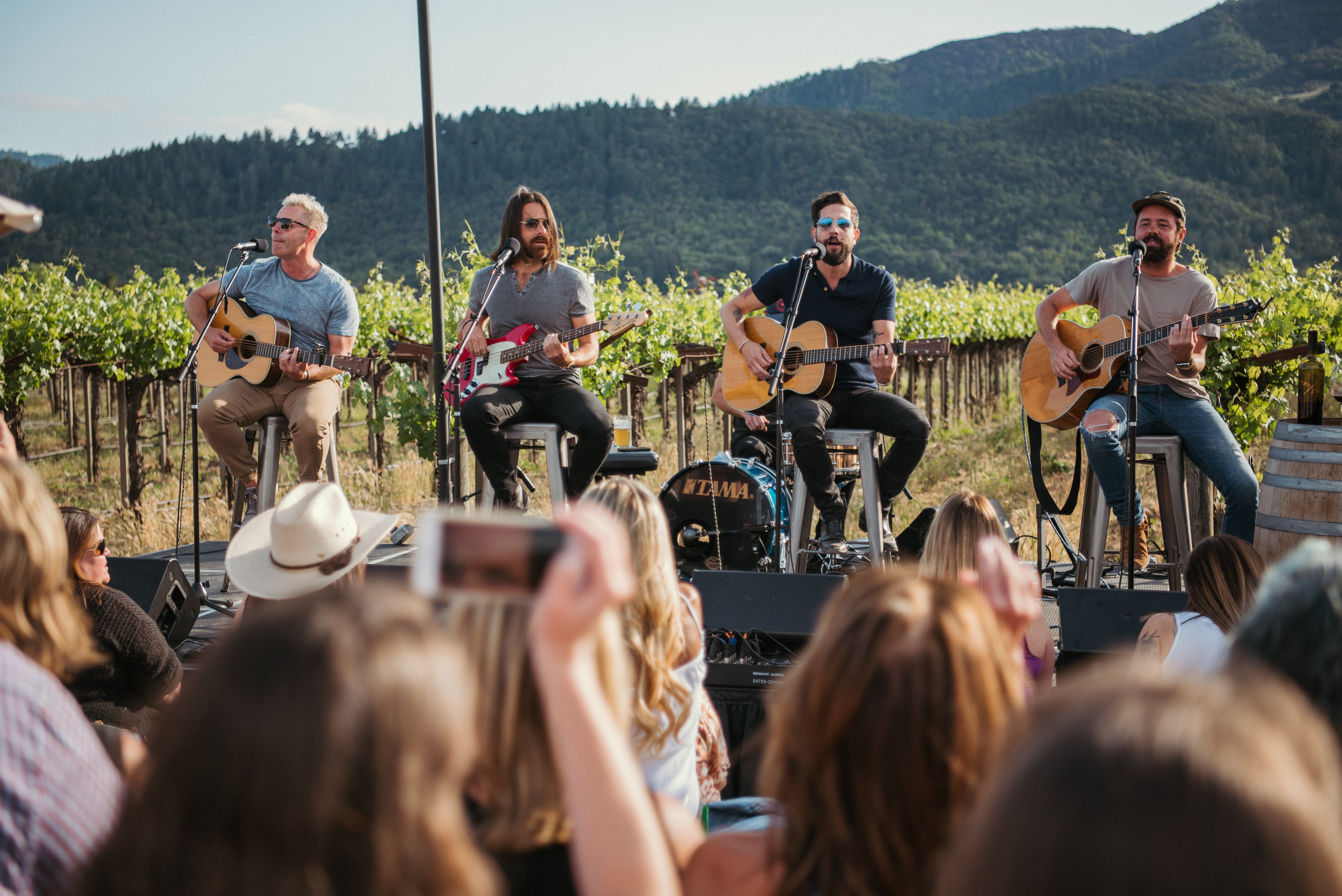 Old Dominion Live In The Vineyard