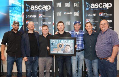 Scotty McCreery Celebrates First No. 1 Single