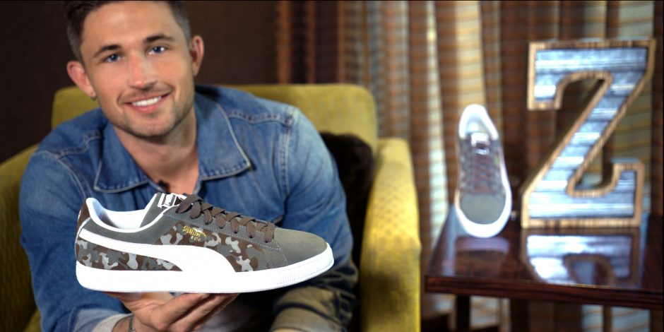 Michael Ray Teams With Zappos to Design 'Wrigley Cares' Puma Sneaker