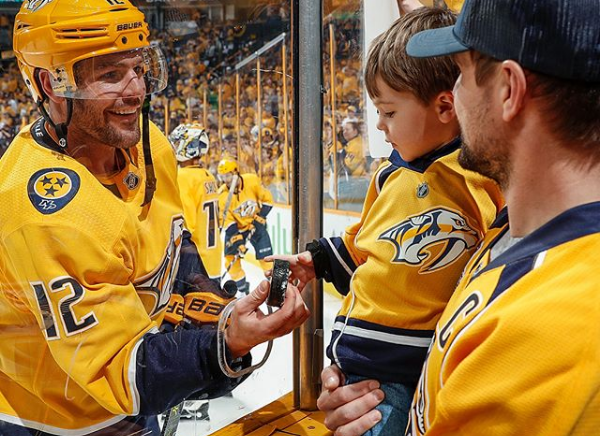 Mike Fisher Pens Goodbye Letter to His NHL Career