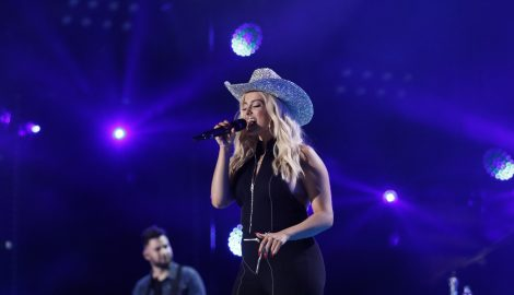 Bebe Rexha Called Upon Dolly Parton's Hat Maker to Create Crystal-Covered Cowboy Hat