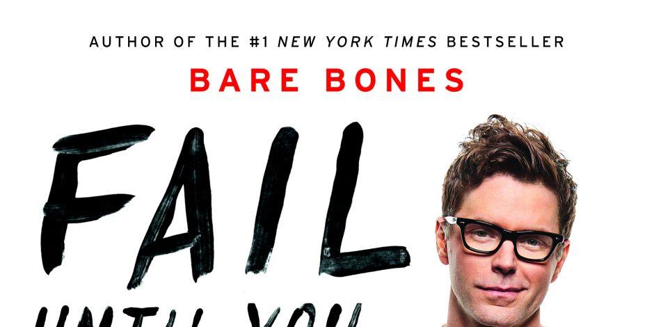 Bobby Bones&#8217; <em>Fail Until You Don't: Fight. Grind. Repeat.</em> Debuts at No.1 on <em>New York Times</em> Best Seller List