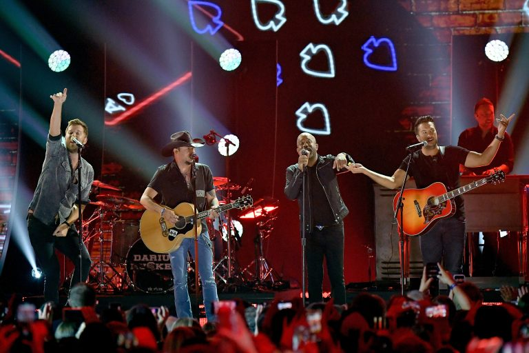 Darius Rucker, Luke Bryan + More Head 'Straight to Hell' at 2018 CMT Music Awards