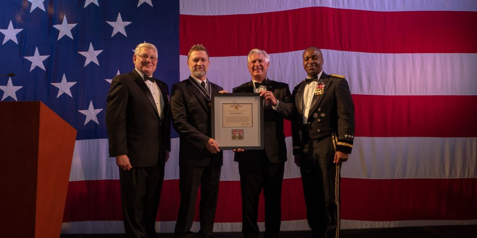U.S. Army Awards Craig Morgan With Outstanding Civilian Service Medal