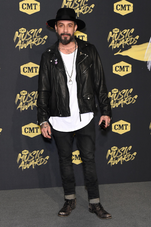 AJ McLean 2018 CMT Music Awards