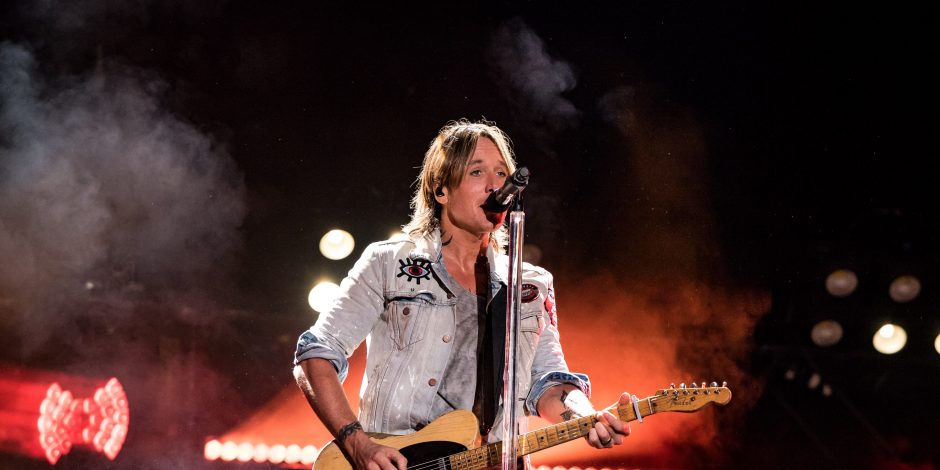Keith Urban Takes Fans Behind-The-Scenes of Graffiti U Tour Rehearsals