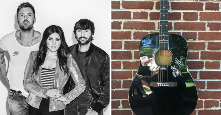 Enter for a Chance to WIN a Signed Lady Antebellum Guitar and <em>NOW That's What I Call Country 11</em> CD