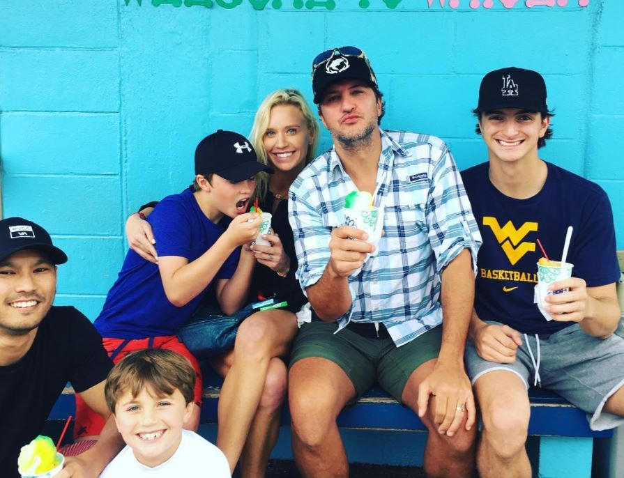 7efe91bd93 Luke Bryan Doesn t Want to Repeat His Hardworking Father s Day From Last  Year