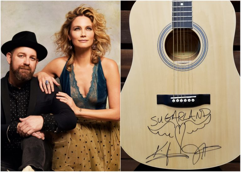 Enter For A Chance to WIN a Guitar Autographed by Sugarland