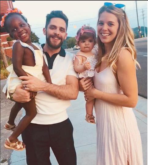 Thomas Rhett Teaches Daughter Ada Her New Favorite Phrase