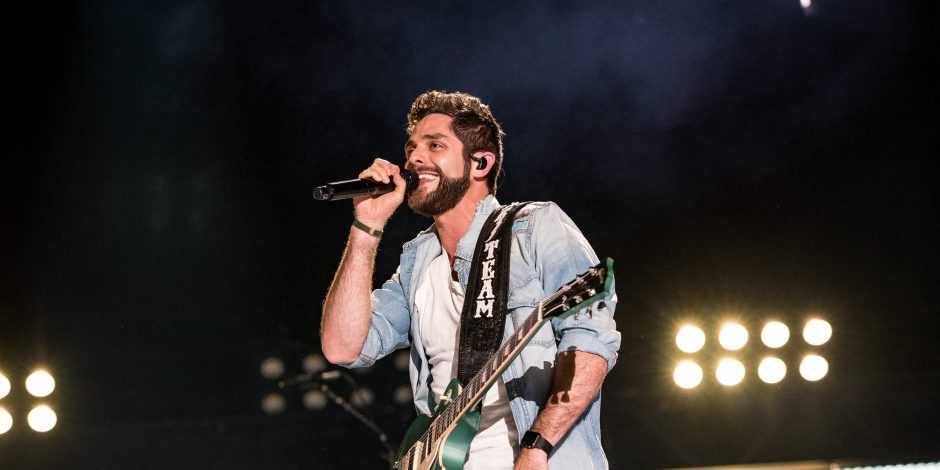 Thomas Rhett Reveals Family Costume Ideas for Halloween