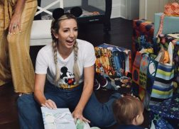 Ashley Monroe Celebrates Son's First Birthday with Mickey Mouse Party