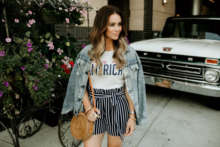 Get the Look! Fashion Blogger KBStyled's Tips for Looking Hotter Than a Firework on Fourth of July