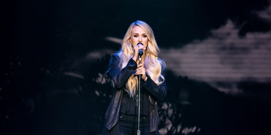 Carrie Underwood Dazzles During Atlantic City Concert