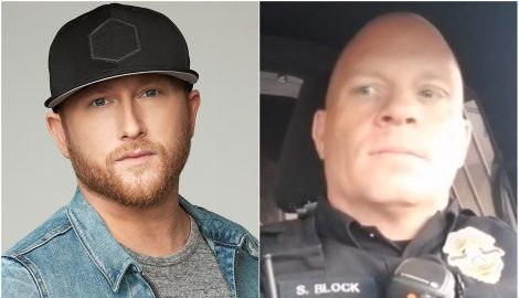 Police Officer Channels Cole Swindell for Nationwide Lip Sync Challenge