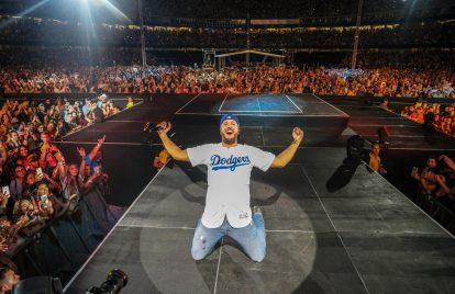 Luke Bryan Makes History at Dodger Stadium Show