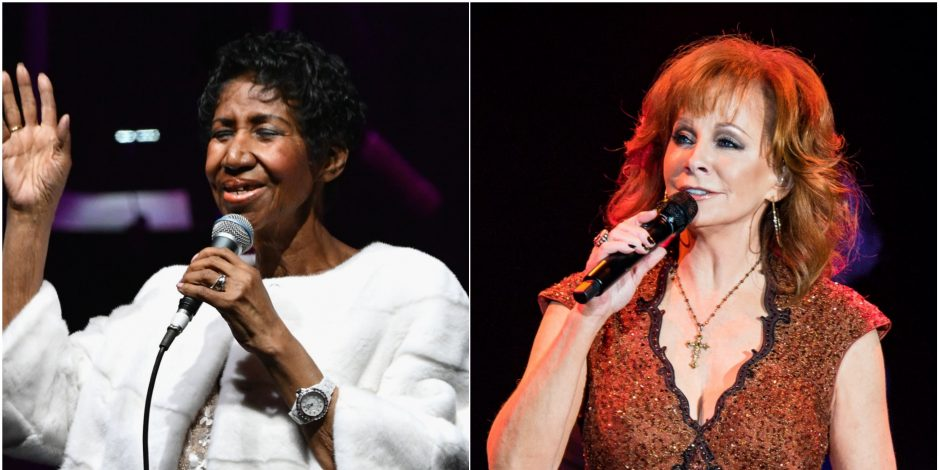 Remember When Reba Covered Aretha Franklin at the 1988 CMA Awards?