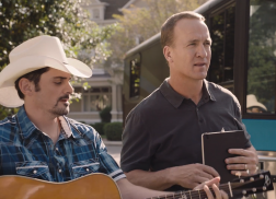 Brad Paisley and Peyton Manning 'Get the Band Back Together' in New Nationwide Ads