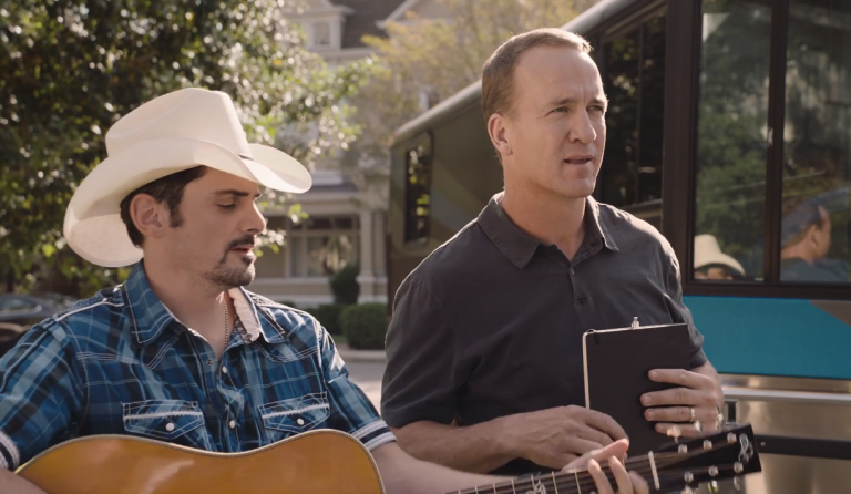 Brad Paisley Jokingly Accepts NFL Hall of Fame Election On Behalf of Peyton Manning