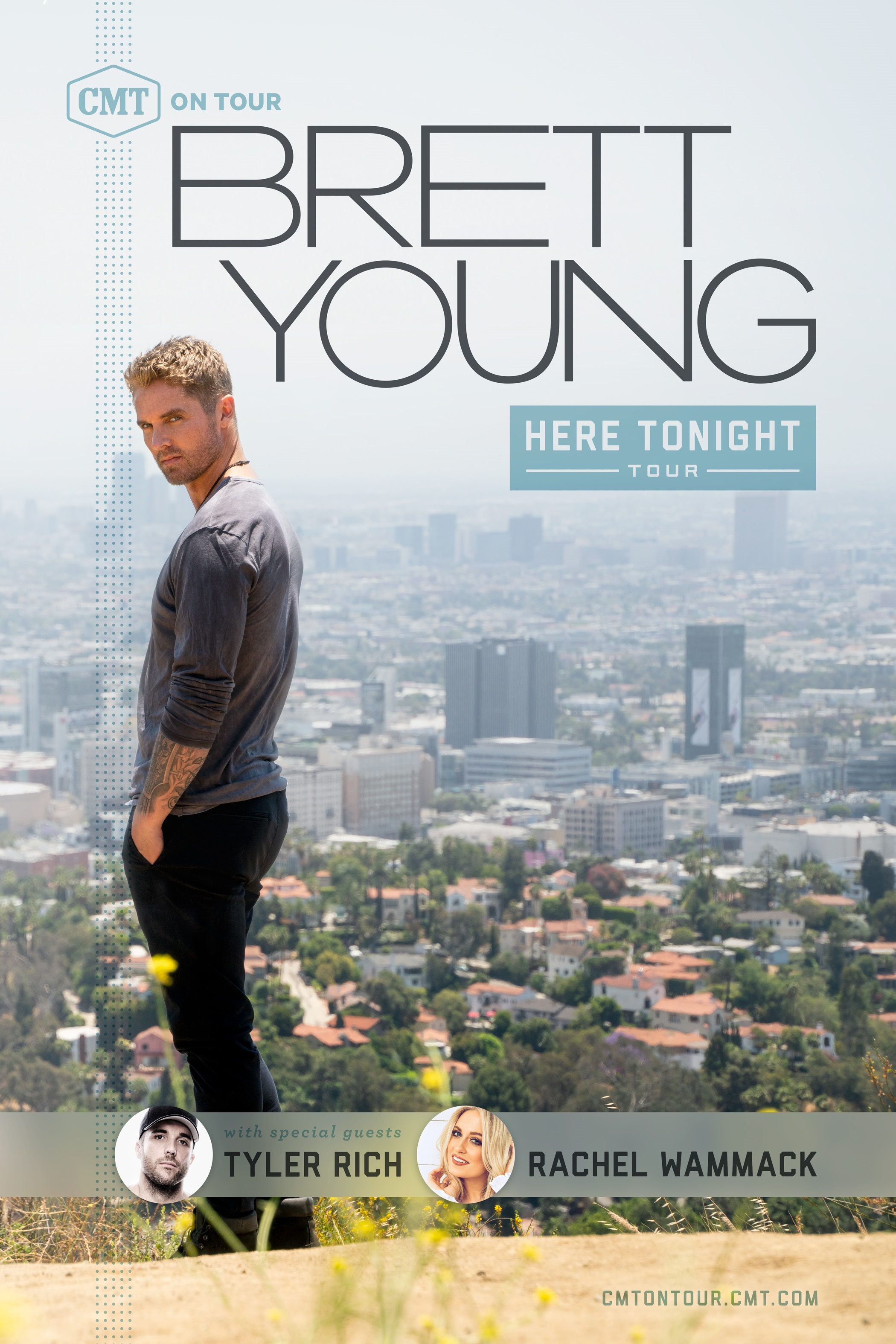 Brett Young CMT On Tour