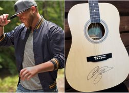 Enter for a Chance to Win a Guitar Autographed by Cole Swindell