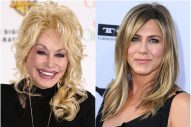 Dolly Parton Cried During a Movie Screening with Jennifer Aniston