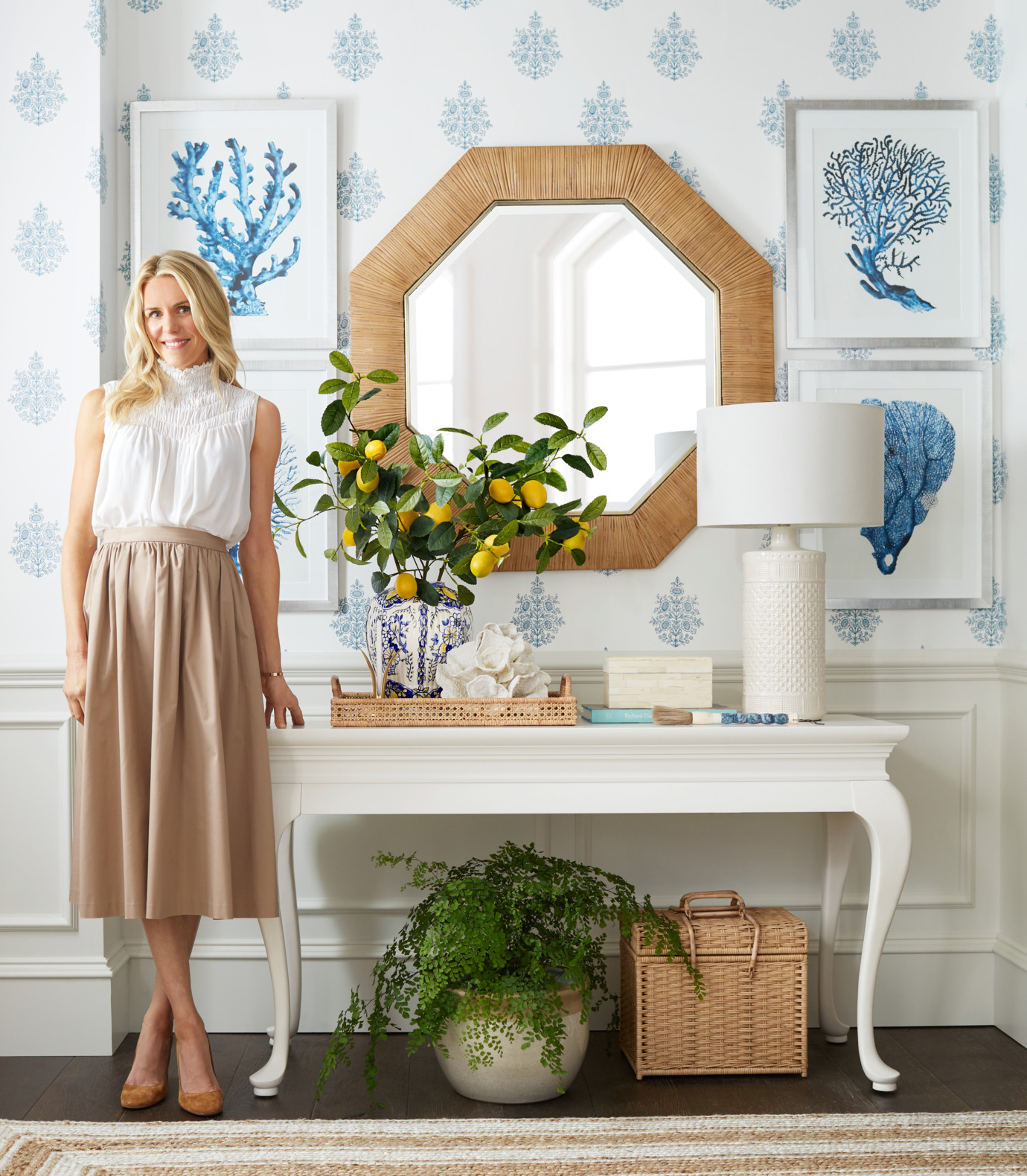 Nashville Designer Sarah Bartholomew On Collaborating With Pottery Barn Finding Beauty In Functionality