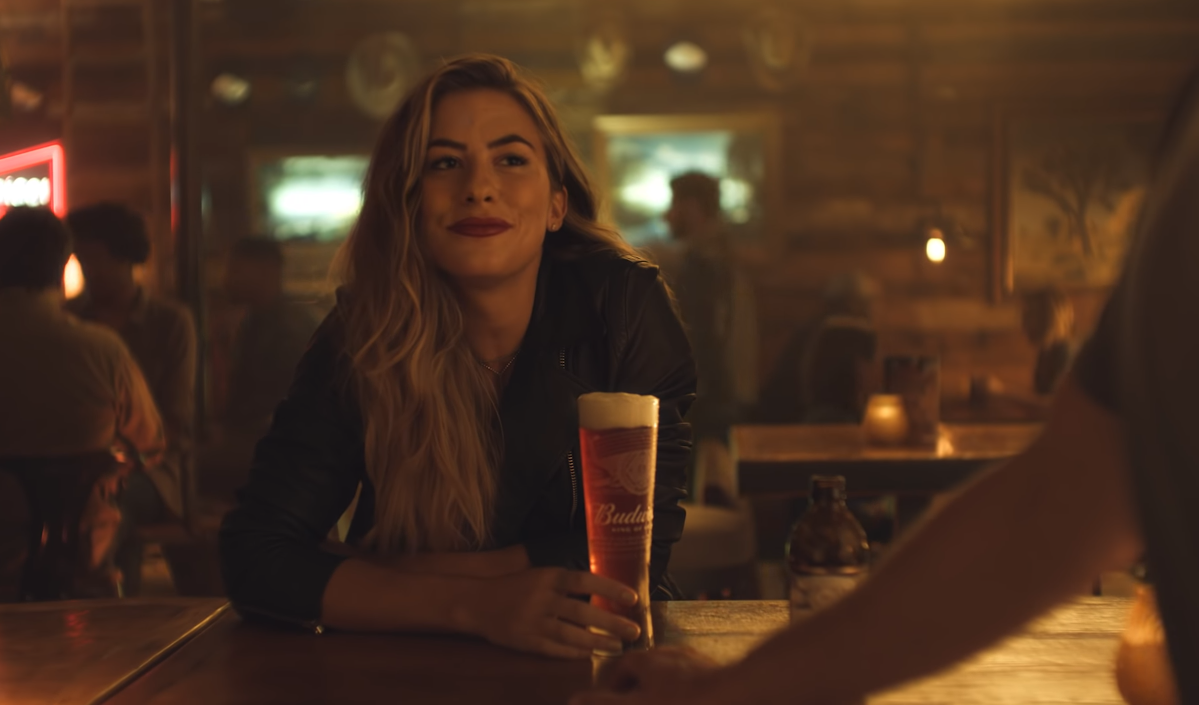 Budweiser Taps Kassi Ashton for Reserve Copper Lager Commercial