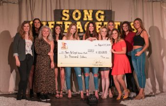 Song Suffragettes Raise $10,000 for 'Time's Up'