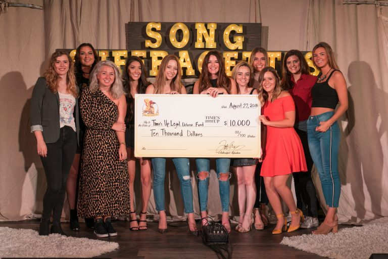Song Suffragettes Raise $10,000 for Time's Up Legal Defense Fund