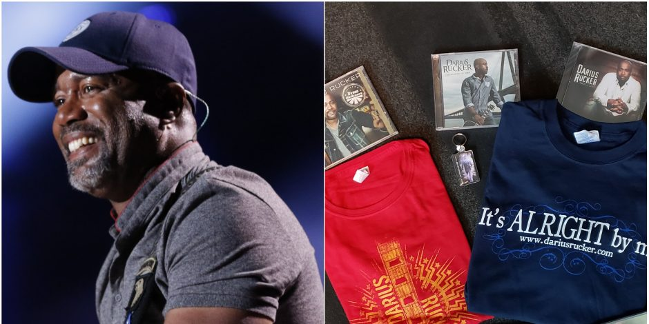 Enter for a Chance to WIN a Darius Rucker-Themed Prize Pack