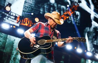 Jason Aldean's Bus is Filled With Cribs & Playpens