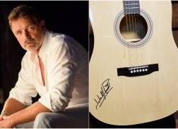 Enter For A Chance to WIN A Guitar Autographed by John Schneider