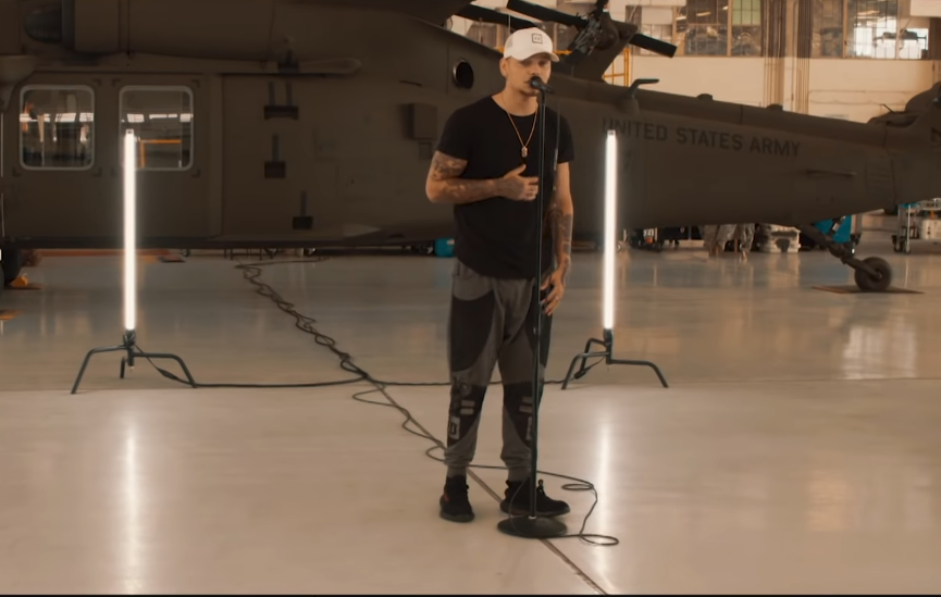 Kane Brown Salutes the Troops in 'Homesick' Music Video