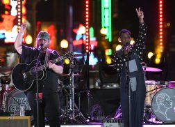 Leon Bridges and Luke Combs Record Collaborations on Heels of <em>CMT Crossroads</em> Taping