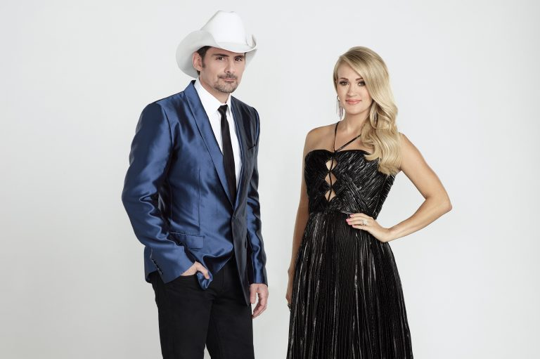 Brad Paisley and Carrie Underwood Offer First Look at 52nd Annual CMA Awards