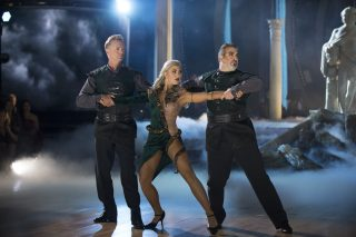 <em>DWTS</em> Puts Schneider, Bones to the Test With Trio Dances